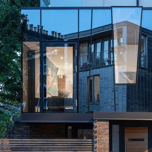 The Invisible House in South-East London by JaK Studio.